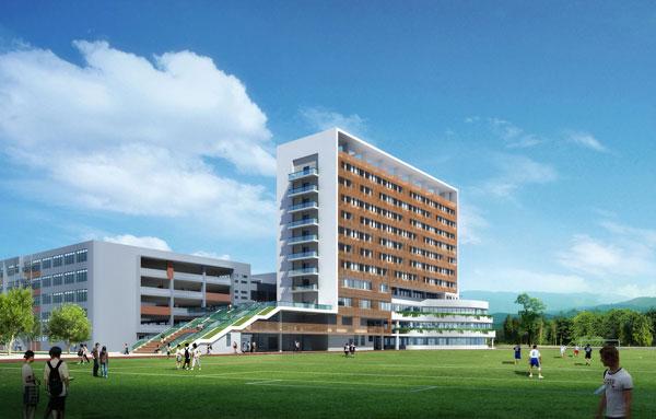 成都高新区新北中学宿舍